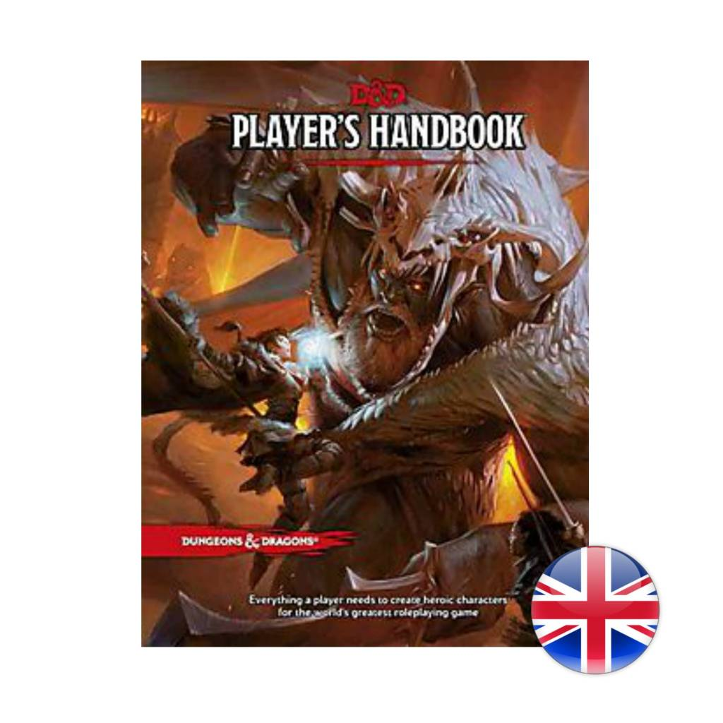 Wizards of the Coast D&D Dungeons & Dragons: Player's Handbook 5th