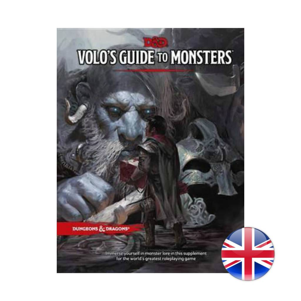 Wizards of the Coast Dungeons & Dragons DnD: Volo's Guide to Monsters