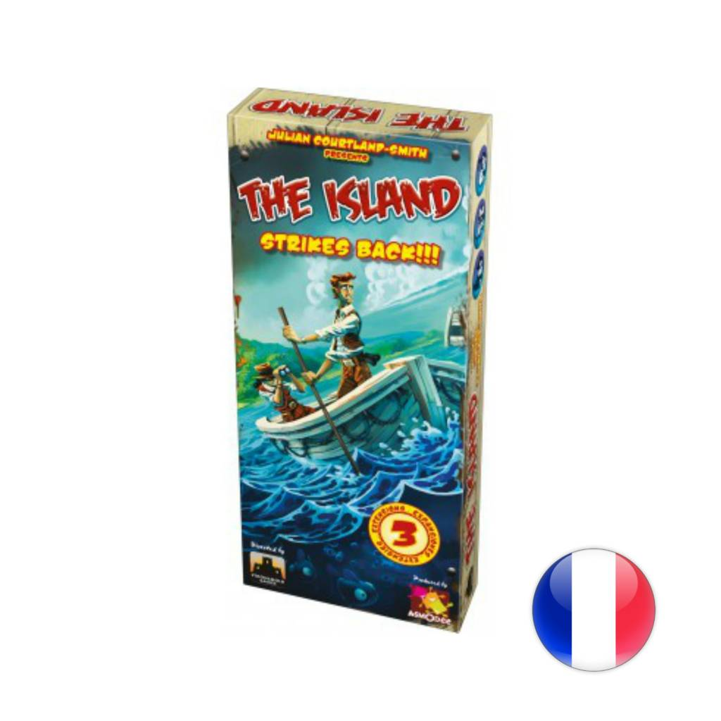 Asmodee The Island: Strike Back!