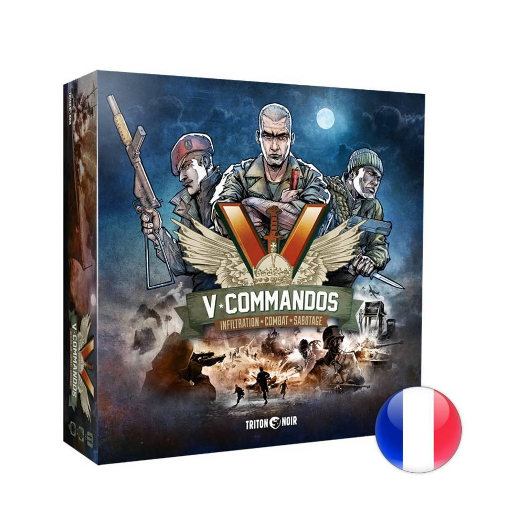 Triton noir V-Commandos