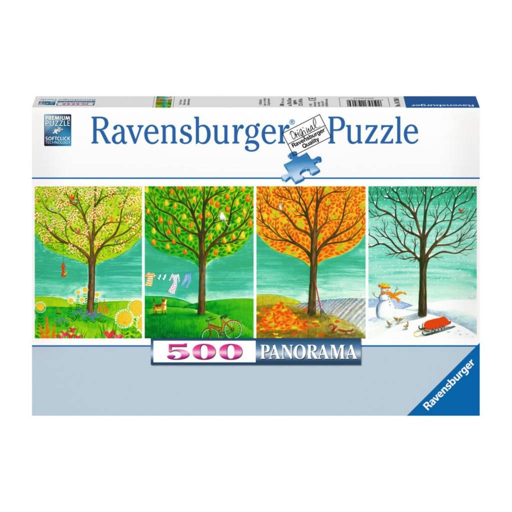Ravensburger Puzzle 500: Quatre saisons / Panorama