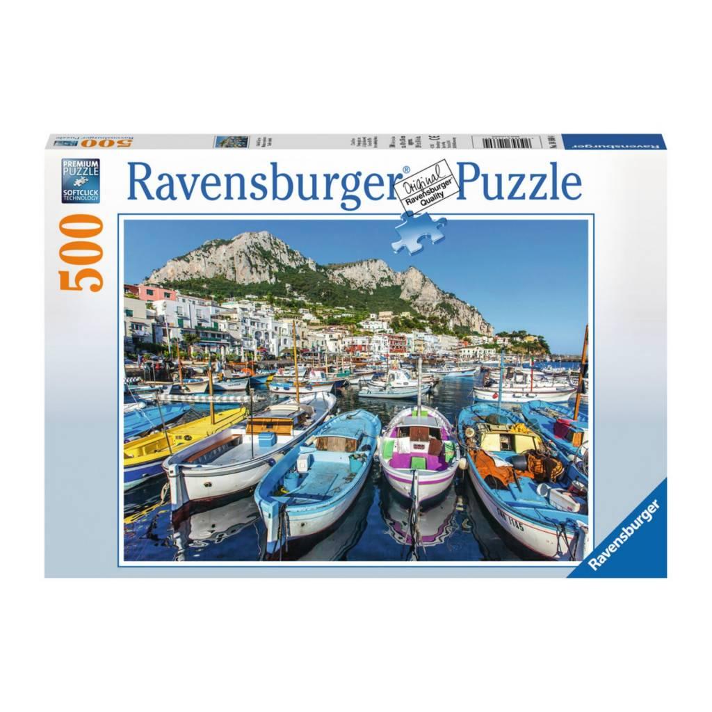 Ravensburger Puzzle 500: Marina en peinture