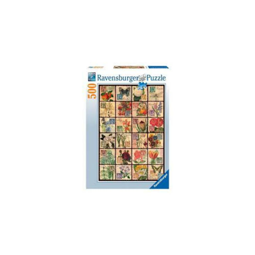 Ravensburger Puzzle 500: Flore antique