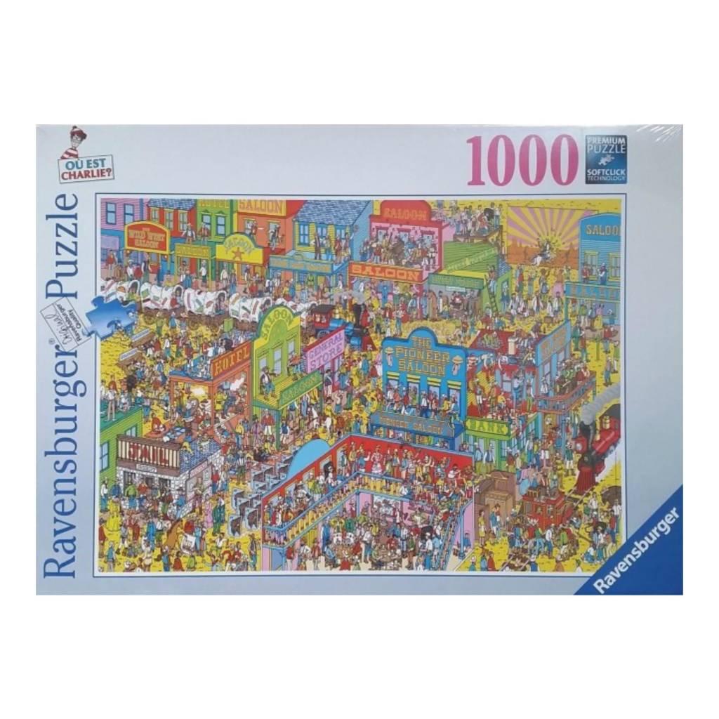 Ravensburger Puzzle 1000: Charlie chez les cow-boys
