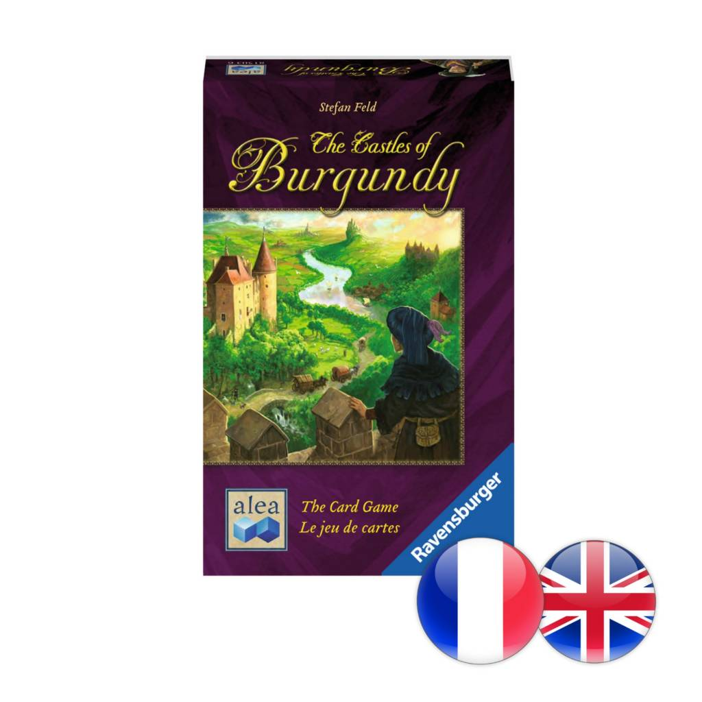 Ravensburger The Castles of Burgundy: The Card Game