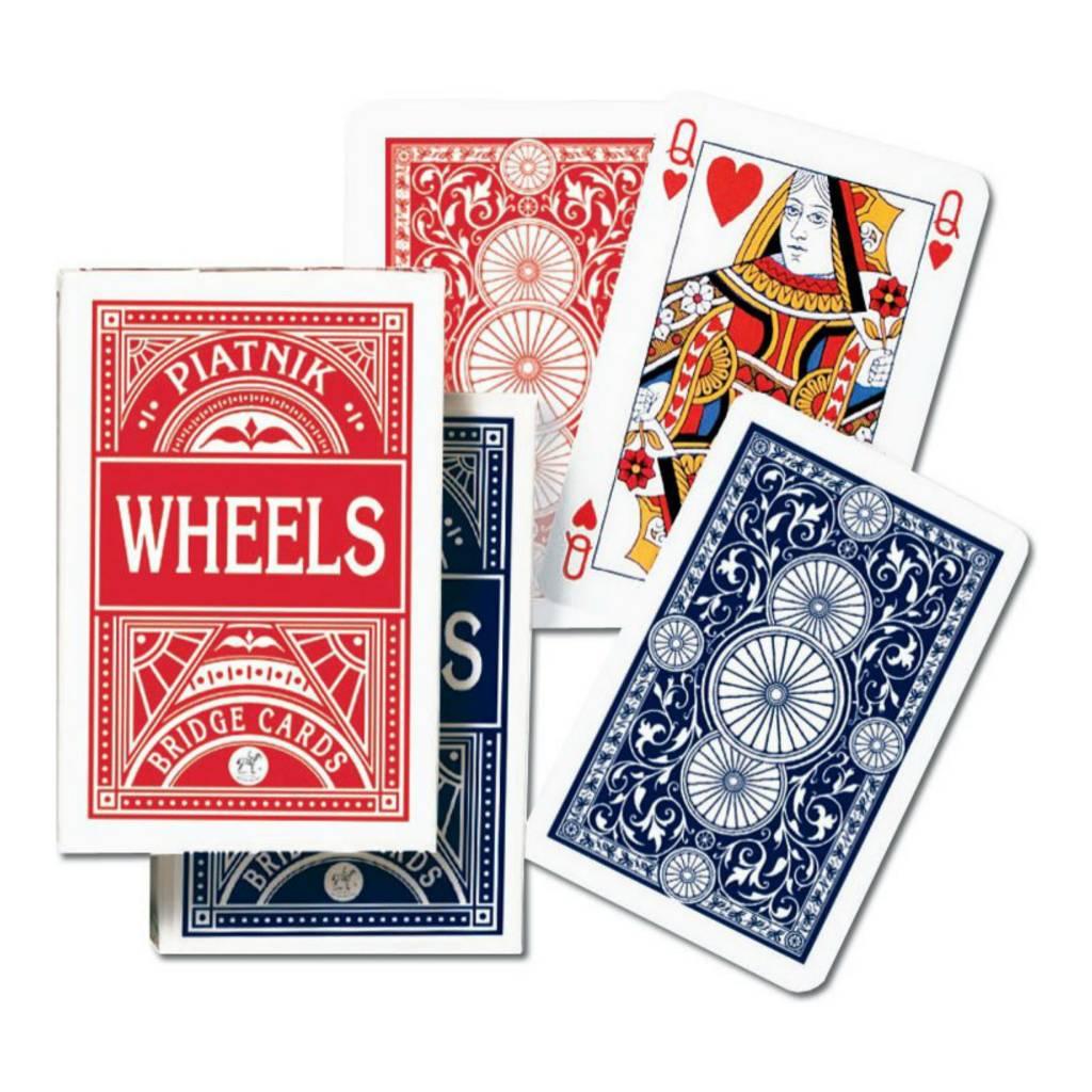 Piatnik Cartes à jouer Bridge - Wheels