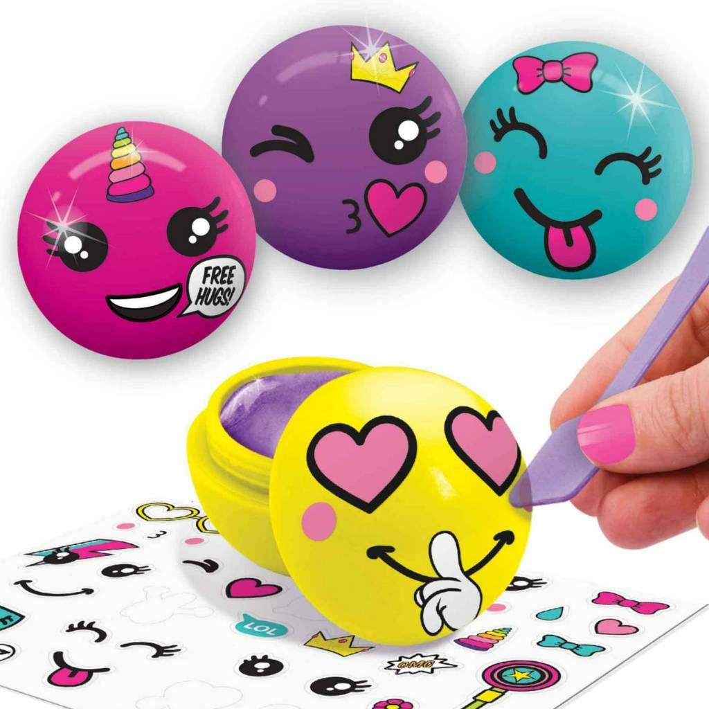 Danawares Ensemble de brillants à lèvres Emoji