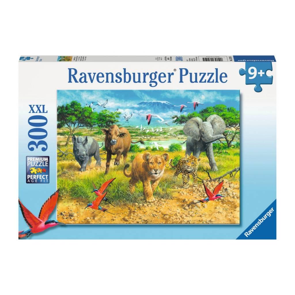 Ravensburger Puzzle 300: Bébés animaux d'Afrique