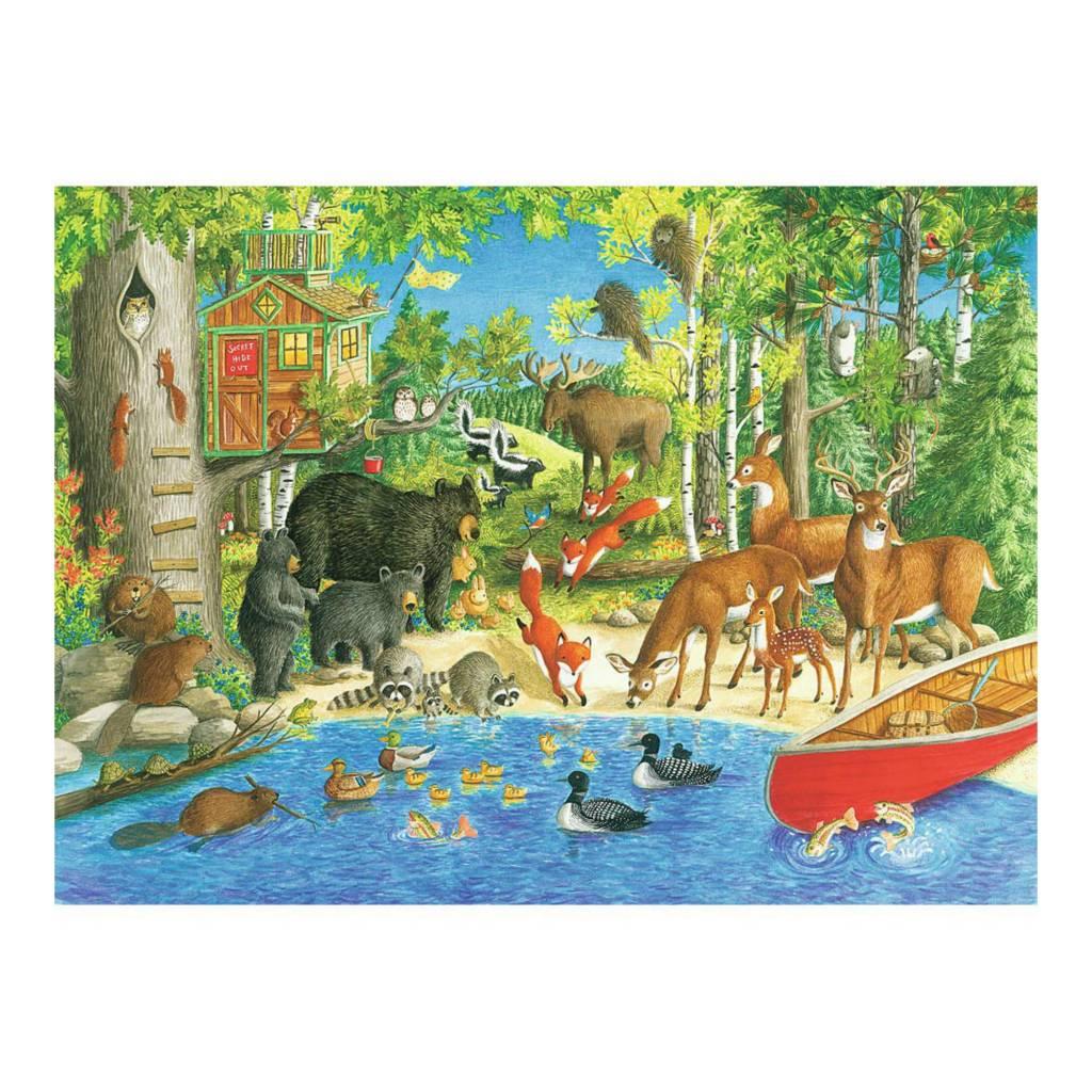 Ravensburger Puzzle 200: Amis de la forêt