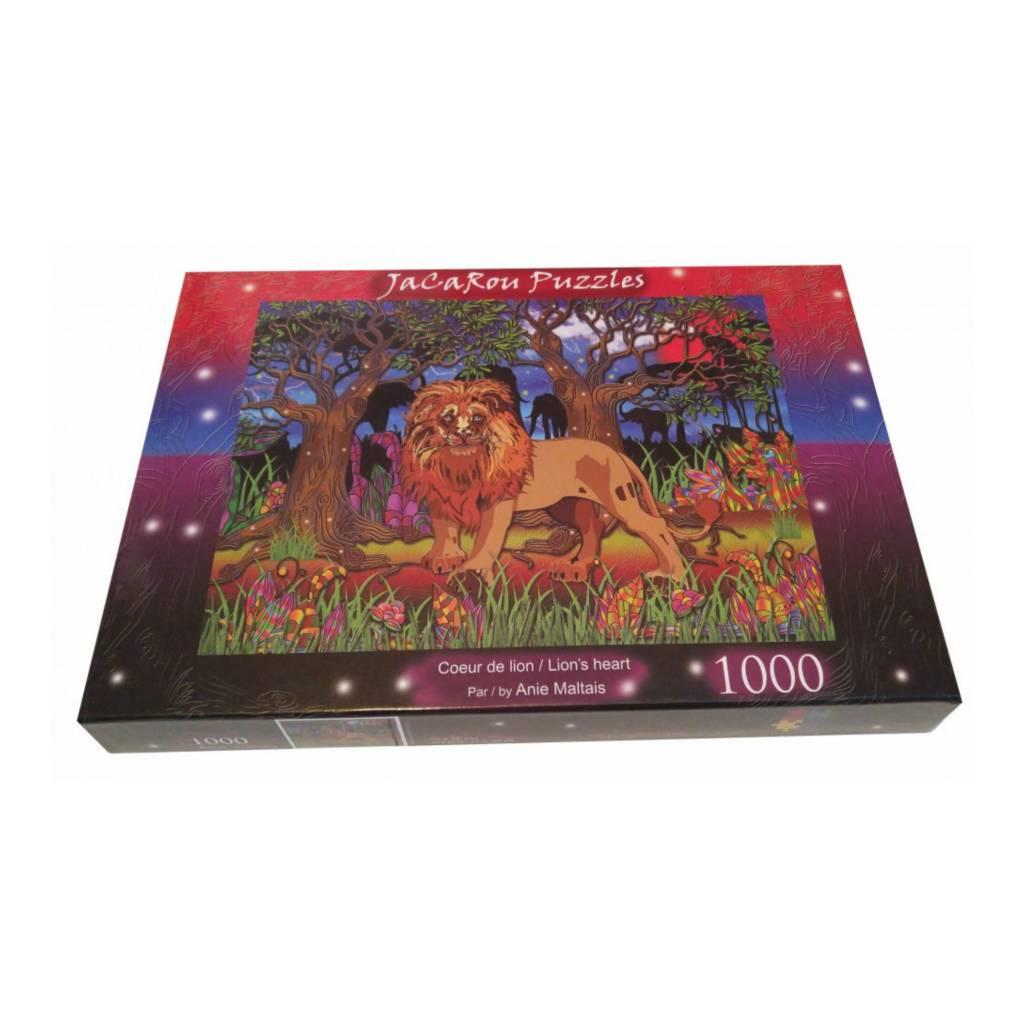 JaCaRou Puzzle 1000: Coeur de lion