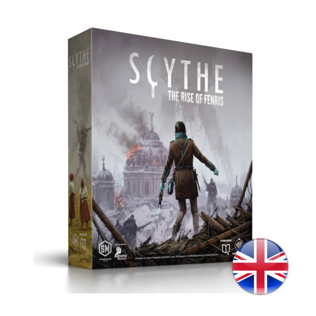 GreaterThanGames Scythe: The Rise of Fenris