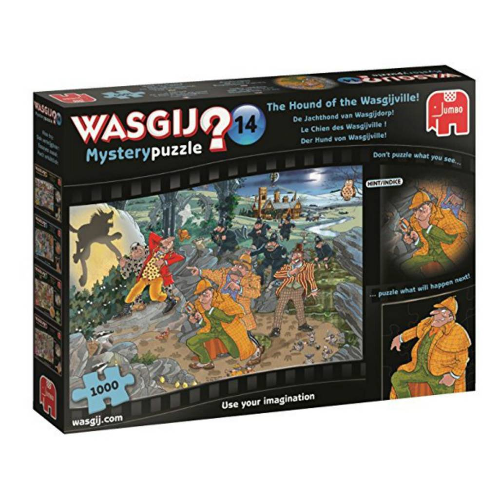 Jumbo Puzzle 1000: Wasgij Mystery 14 - Chien des Wasgiville