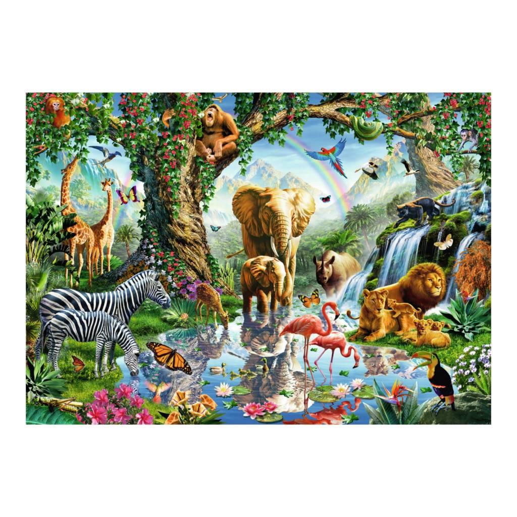 Ravensburger Puzzle 1000: Aventures dans la jungle