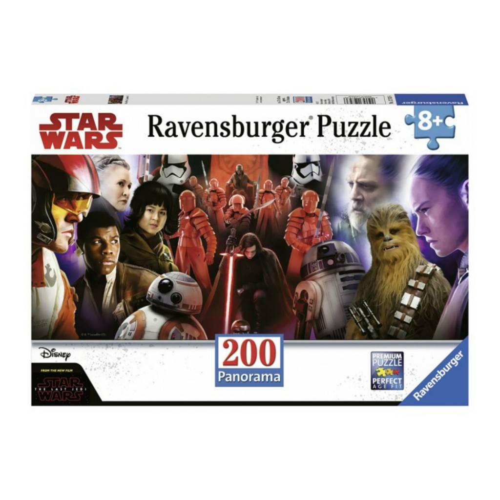 Ravensburger Puzzle 200: Star Wars Episode 8 Panorama
