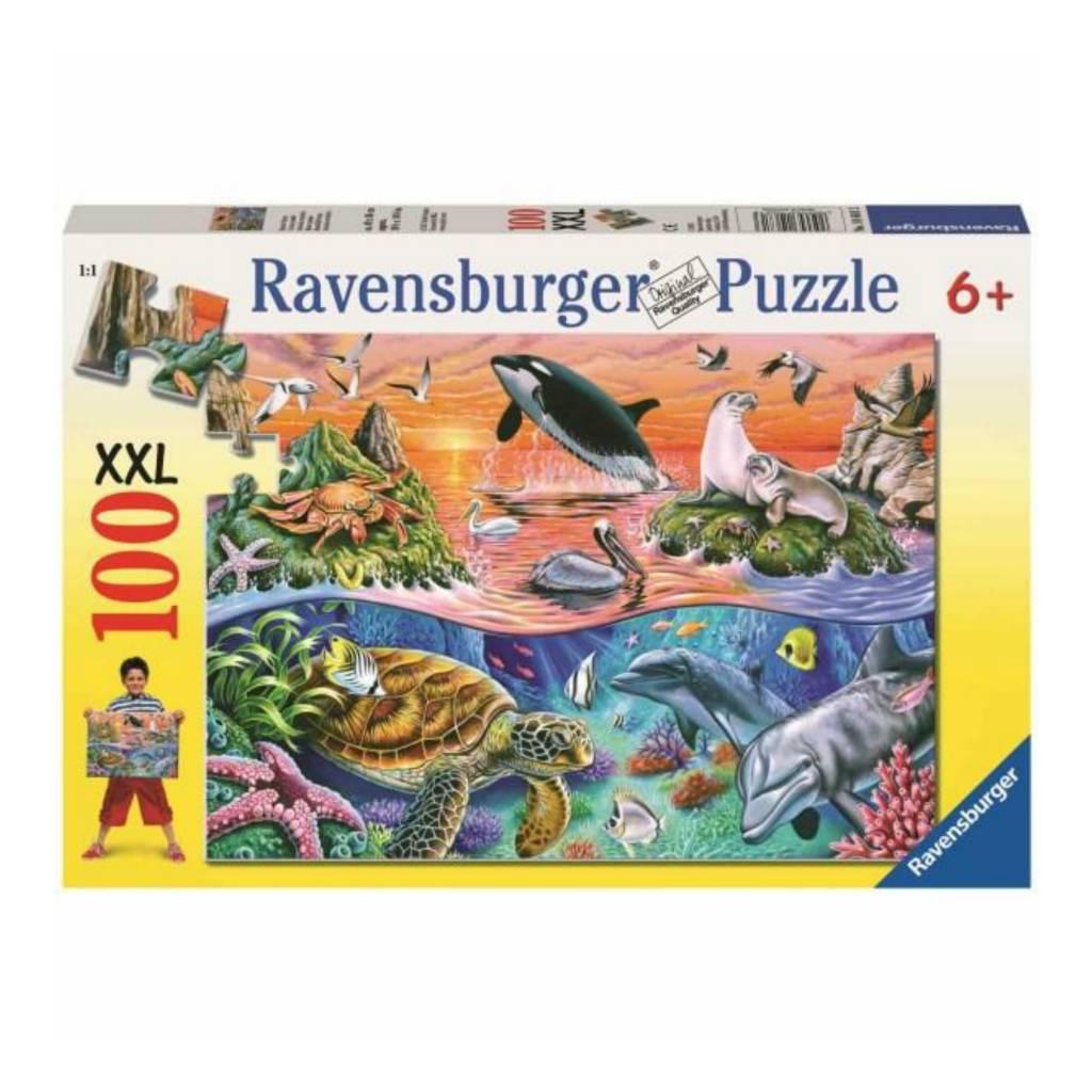 Ravensburger Puzzle 100: L'océan coloré