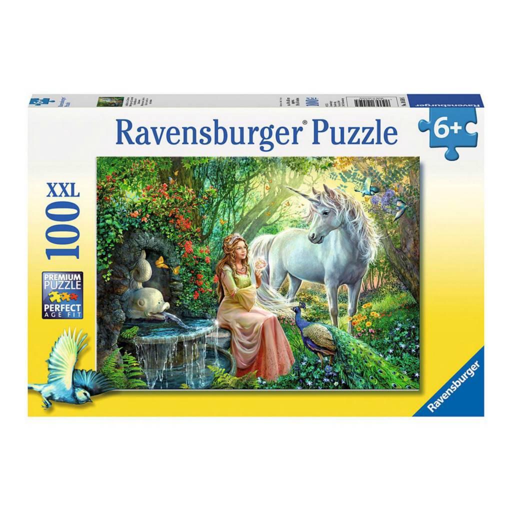 Ravensburger Puzzle 100: Le royaume de la licorne