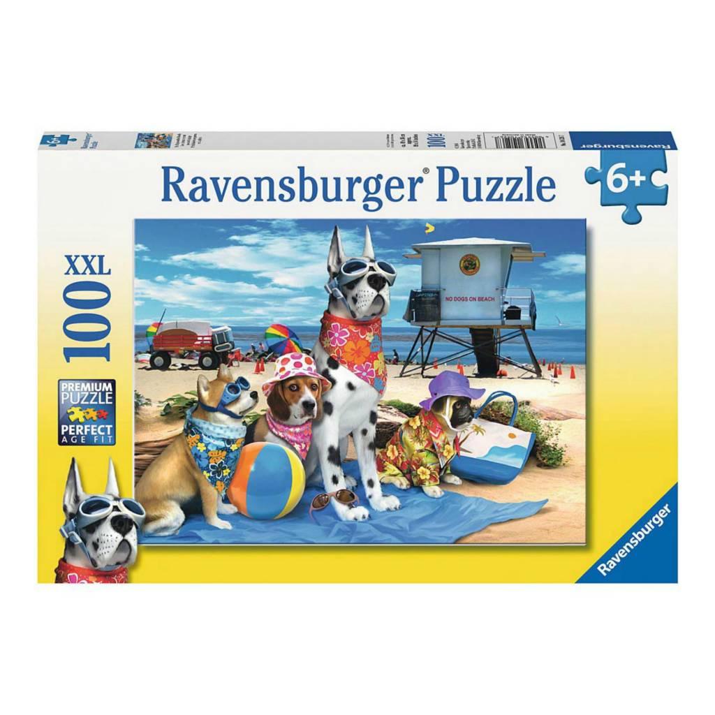 Ravensburger Puzzle 100: Chiens interdits