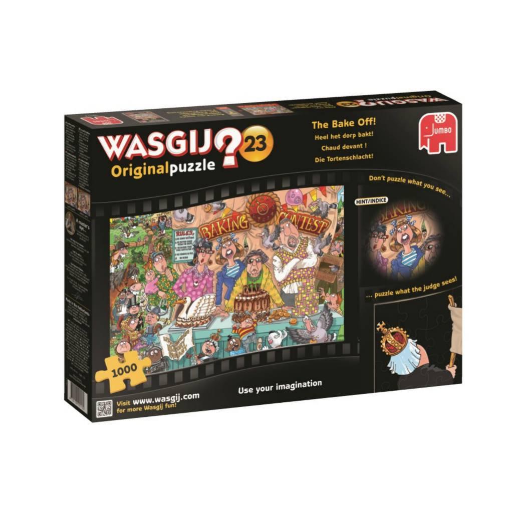 Puzzle 1000: Wasgij Original #23 - Chaud devant