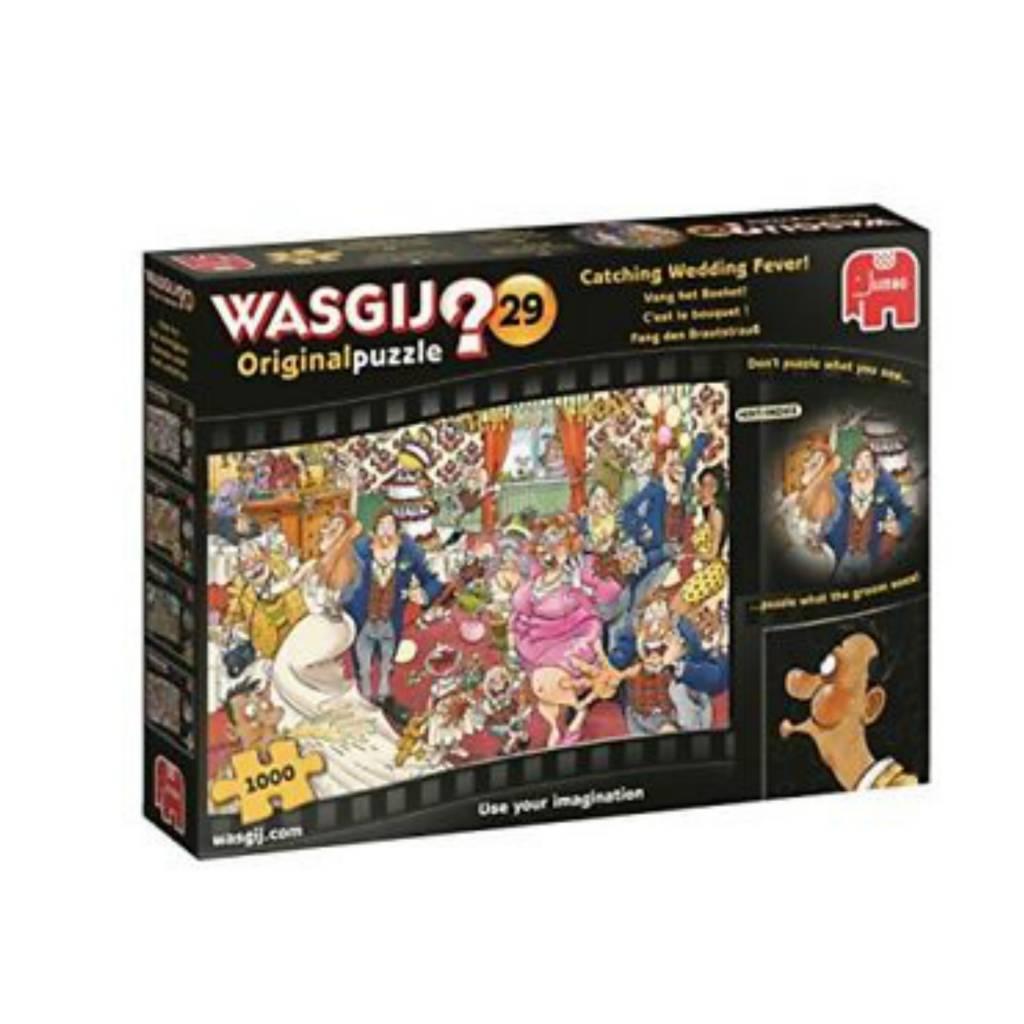 Wasgij Puzzle 1000: Wasgij Original #29 - Lancer du bouquet