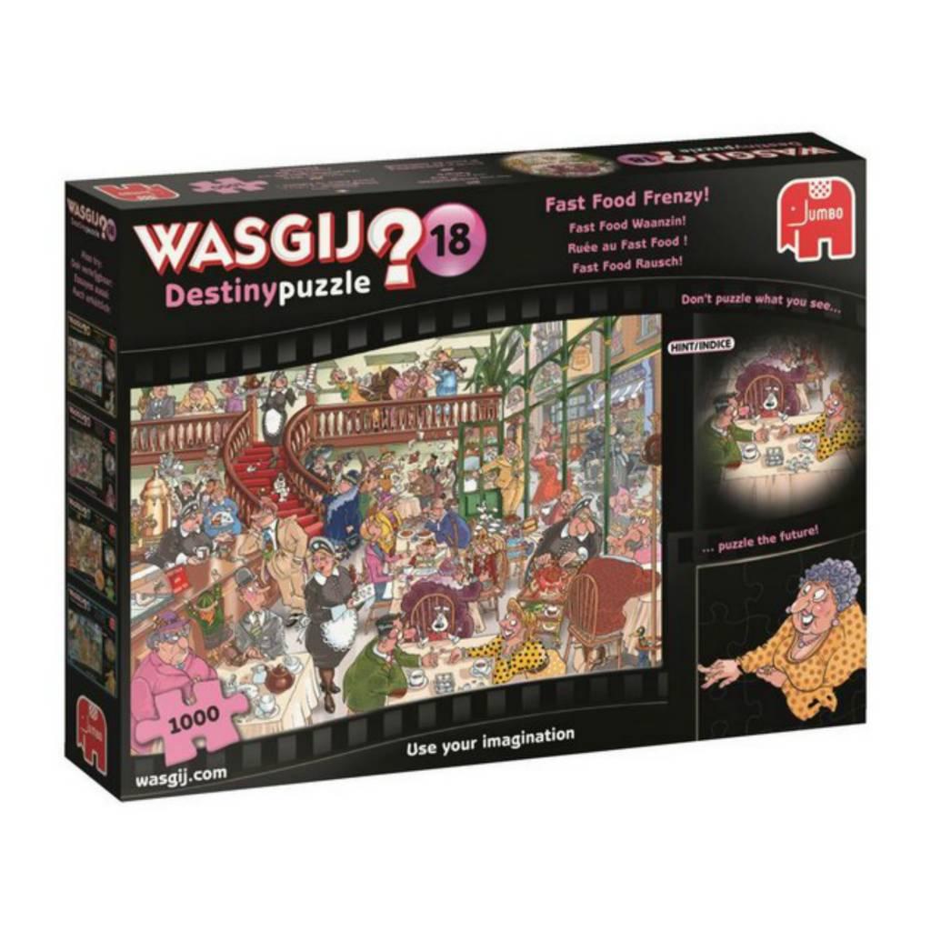 Wasgij Puzzle 1000: Wasgij Destiny #18 Ruée au Fast Food