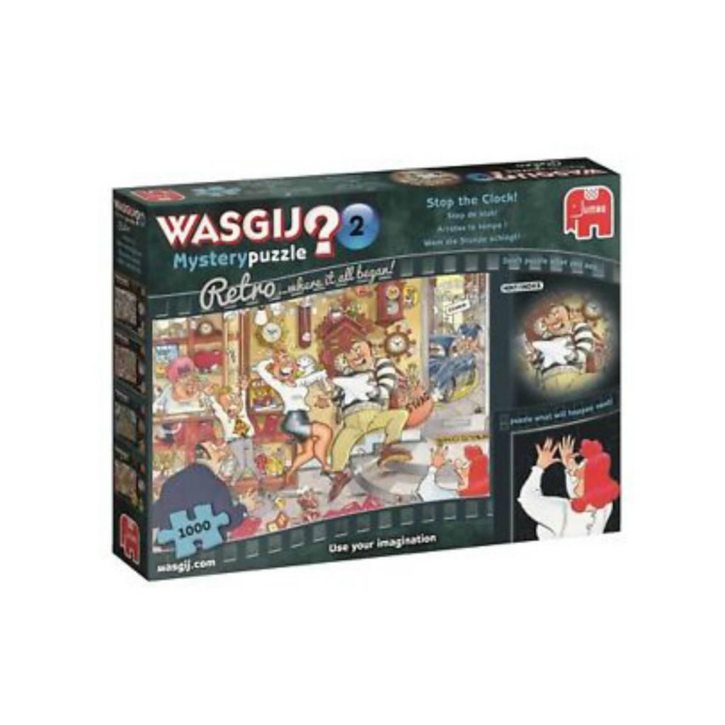 Wasgij Puzzle 1000: Wasgij Destiny Retro #2 Stop the Clock