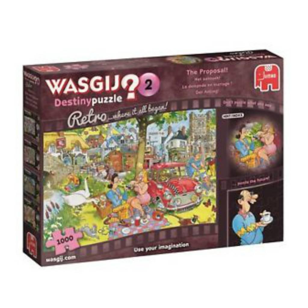 Wasgij Puzzle 1000: Wasgij La demande en mariage