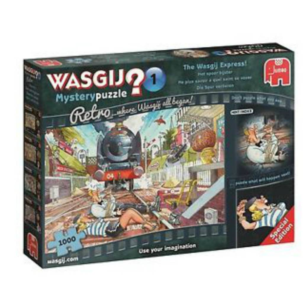 Wasgij Puzzle 1000: Wasgij Mystery #1 Retro Wasgij Express