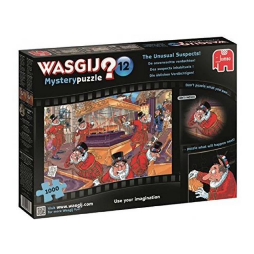 Wasgij Puzzle 1000: Wasgij Mystery #12 - Suspects inhabituels