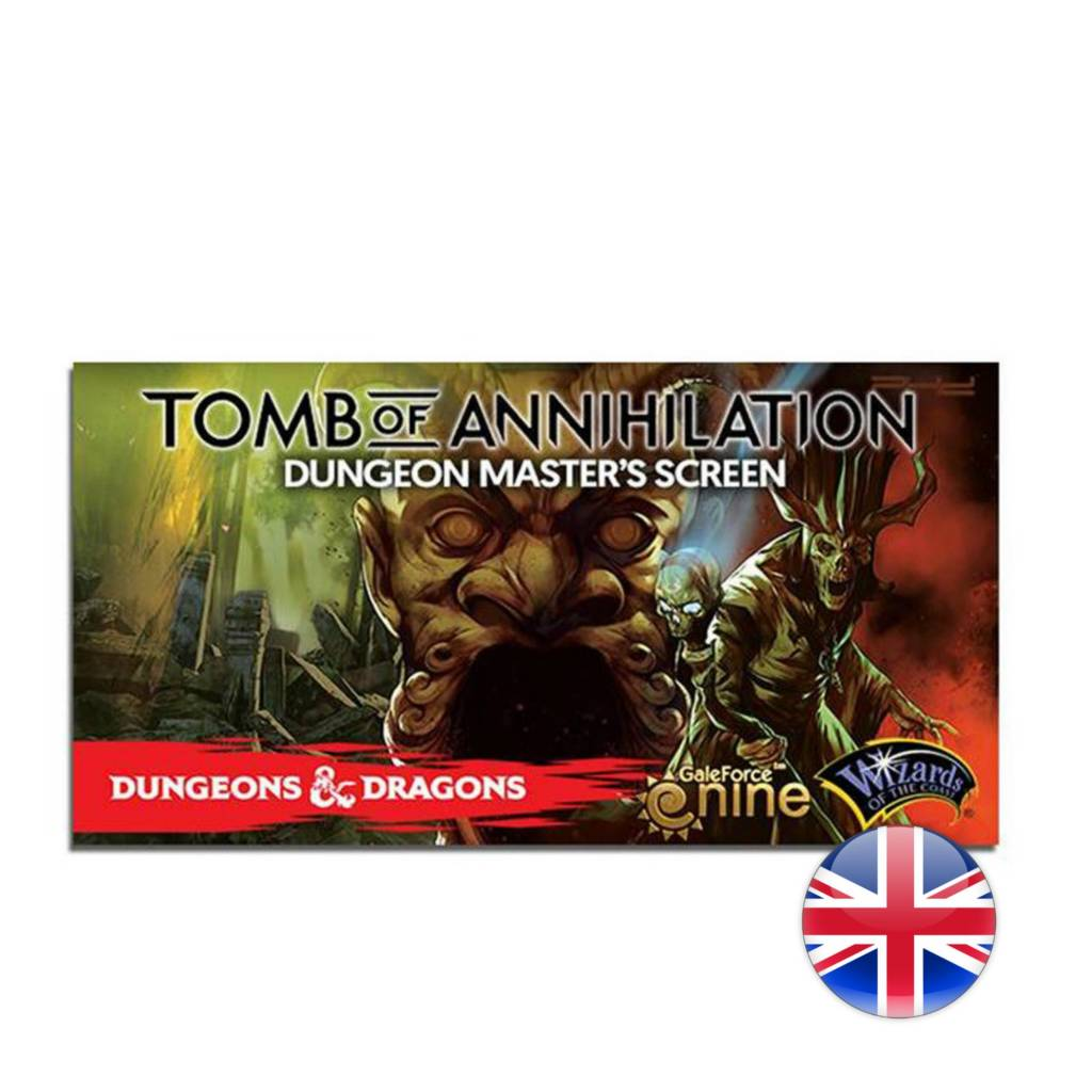 Wizards of the Coast D&D Dungeons & Dragons: Tomb of Annihilation: DM Screen