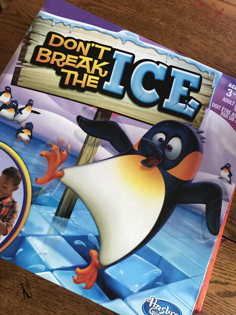 Don't Break the Ice, notre jeu chouchou!