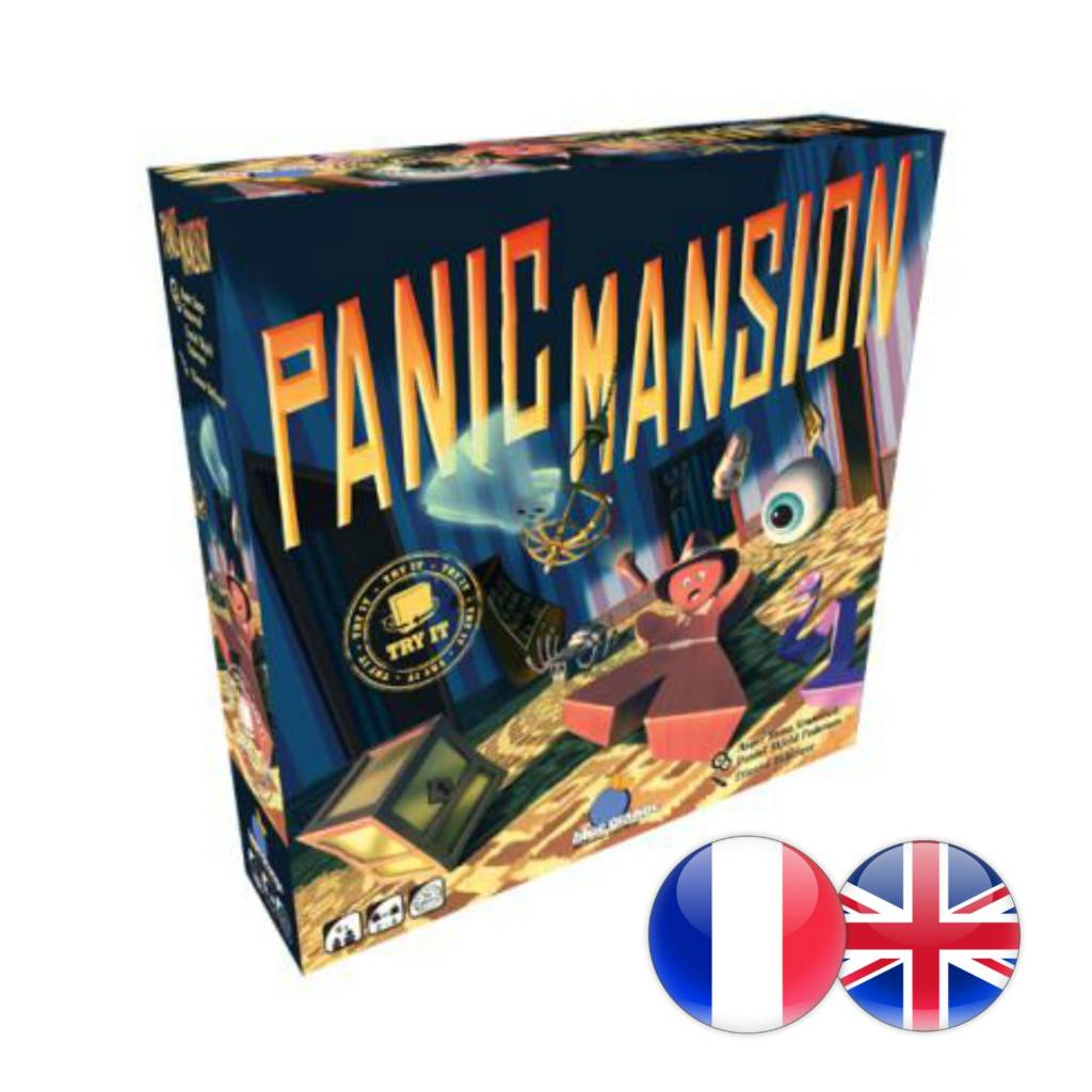 Blue Orange Panic Mansion (multi)