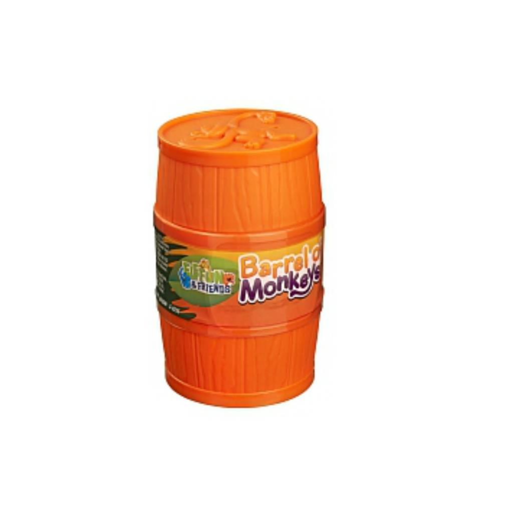Hasbro Games Jeu Baril de singes Elefun et ses amis orange
