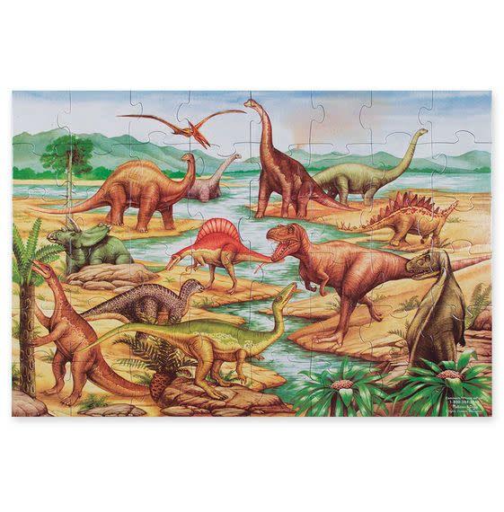 Melissa & Doug Puzzle plancher 48: Dinosaurs