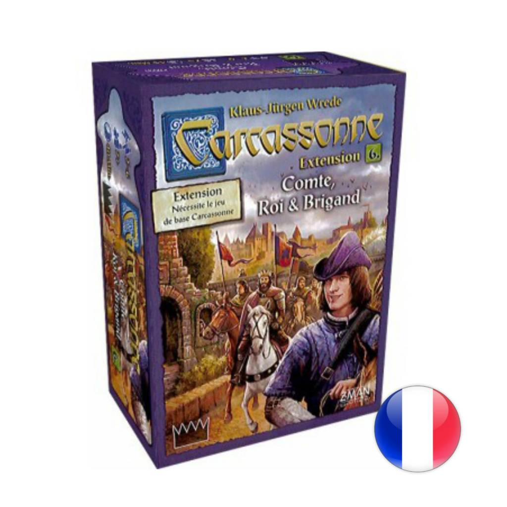 Asmodee Carcassonne 2.0 : Compte, roi et brigands