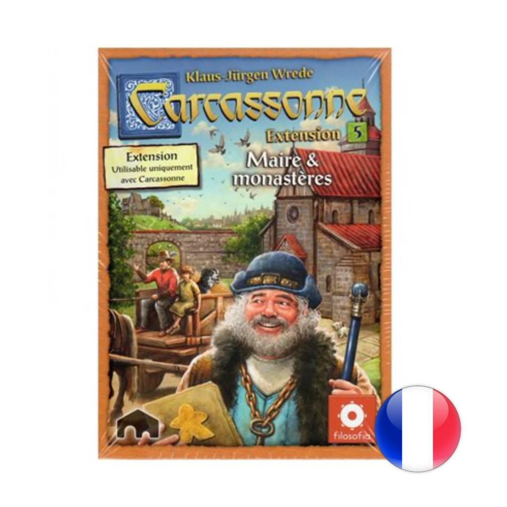 Filosofia Carcassonne 2.0 - Ext. Maires & Monastères