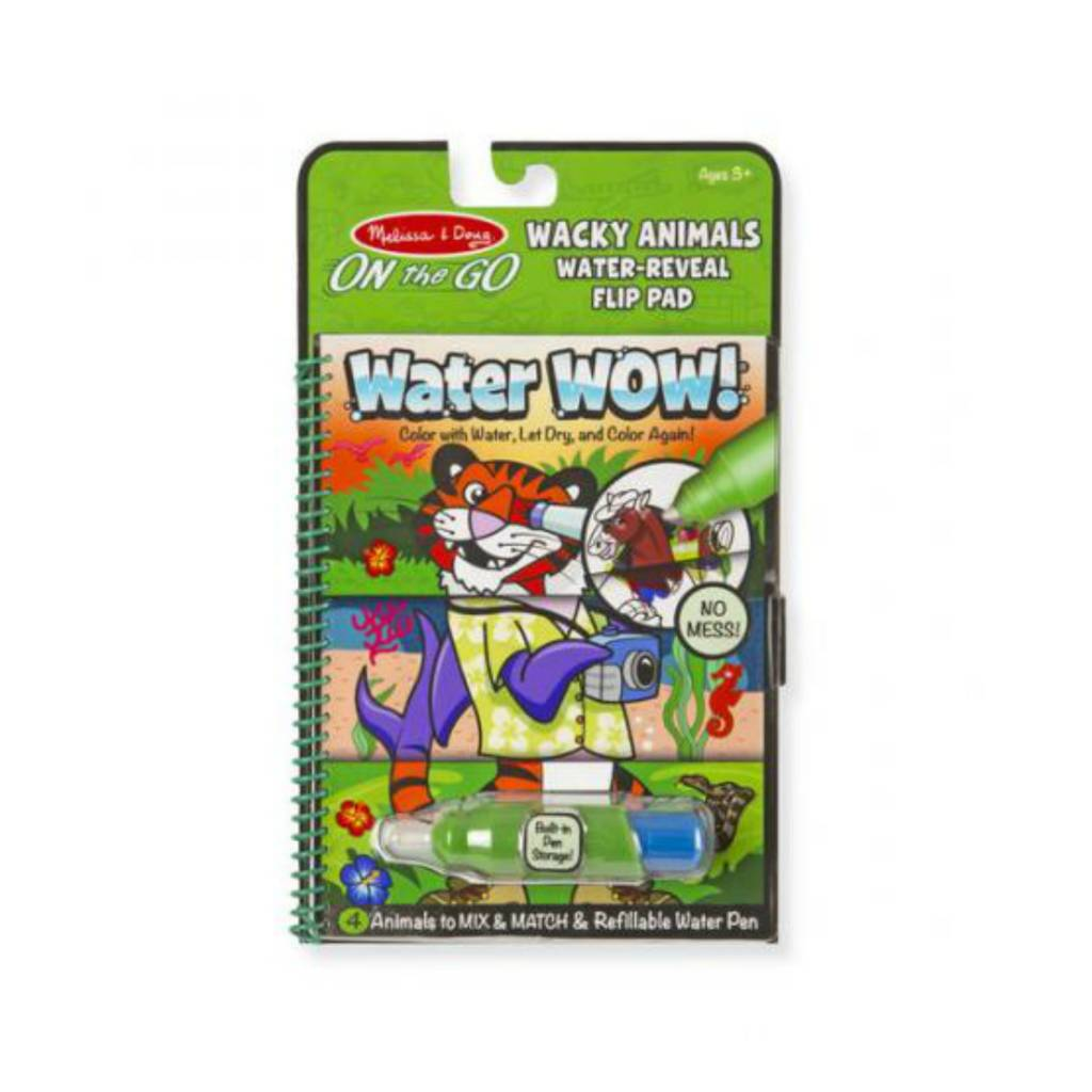 Melissa & Doug Water Wow! - Wacky Animals