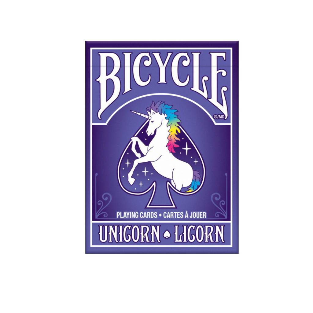 Bicycle Cartes à jouer Bicycle - Unicorn / Licorne