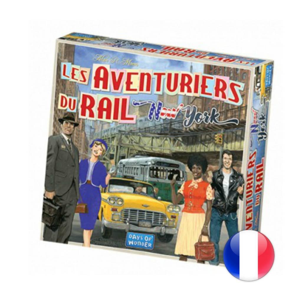 Les Aventuriers du rail Express: New York 1960