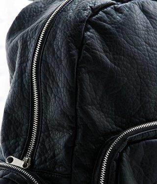 L'Oréal Paris Black leather backpack