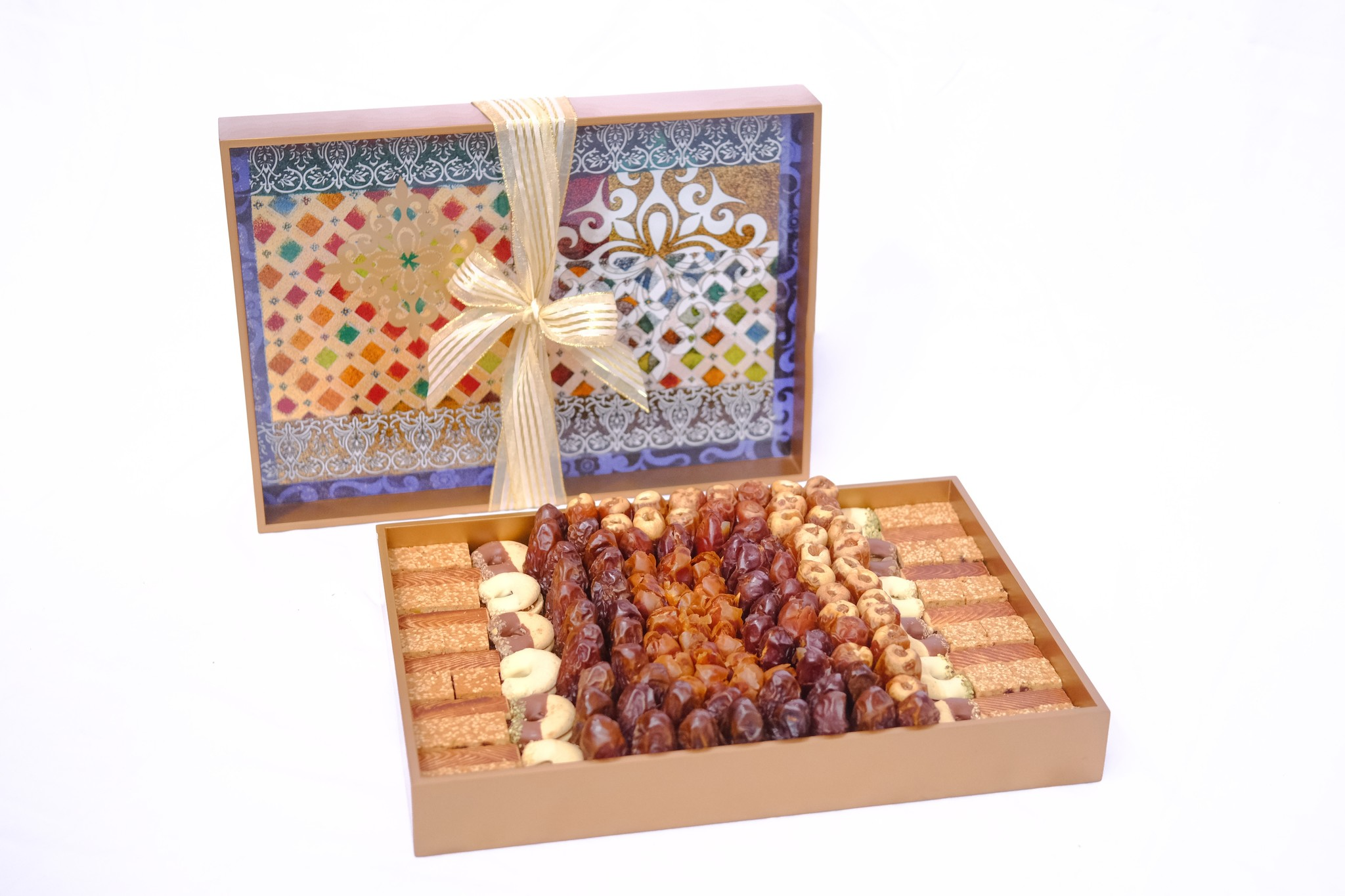 Bateel USA Arabian Dream Tray Dates and Biscuits Assortment