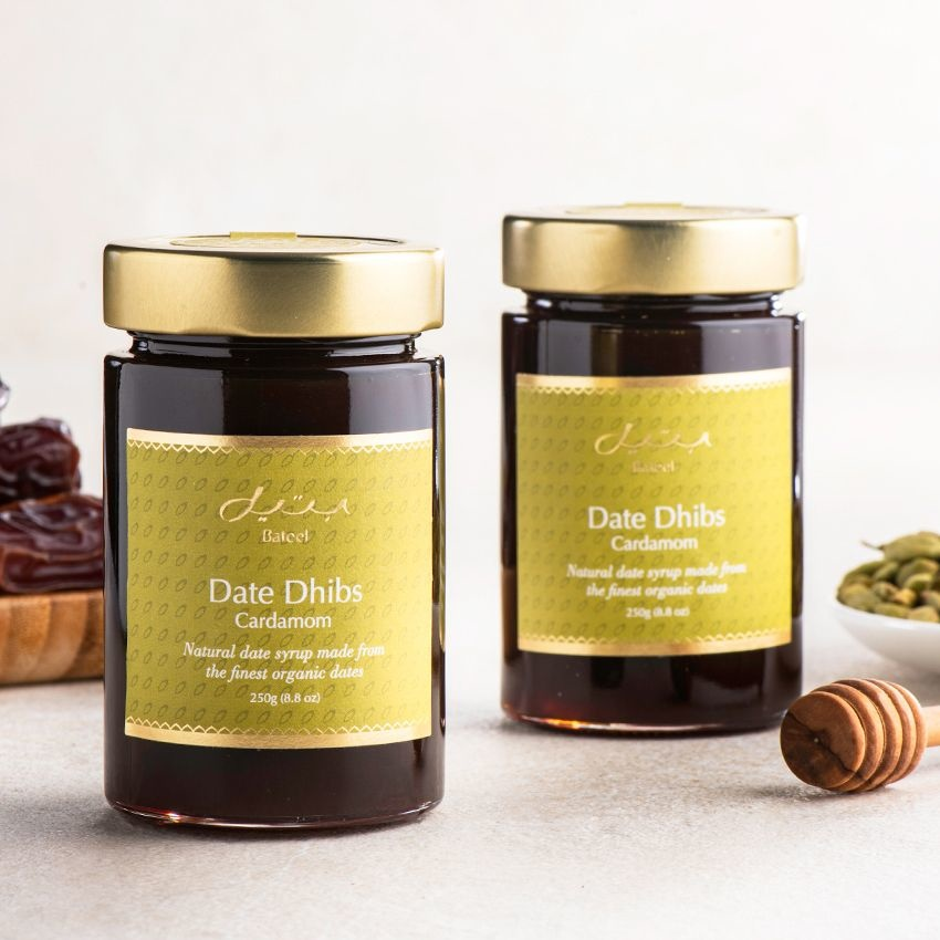 Cardamom Date Dhibs