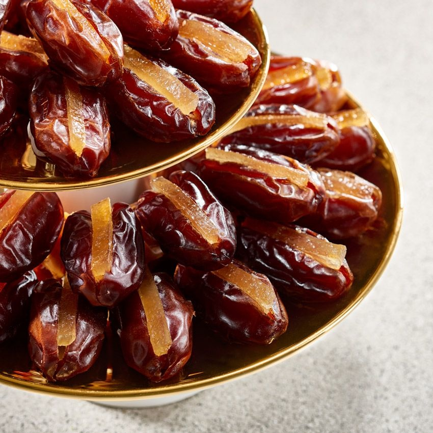 Bateel USA Khidri Dates Candied Lemon Peel