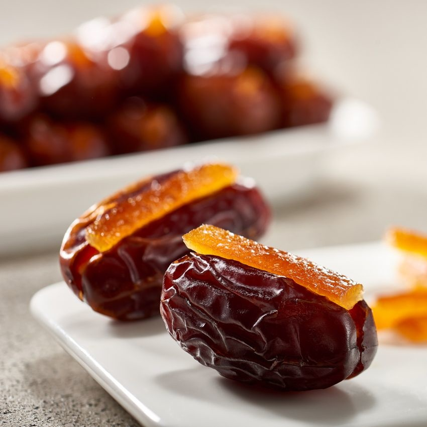 Bateel USA Khidri Dates Candied Orange Peel