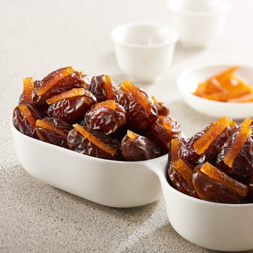 Bateel USA Wanan Dates Candied Orange Peel