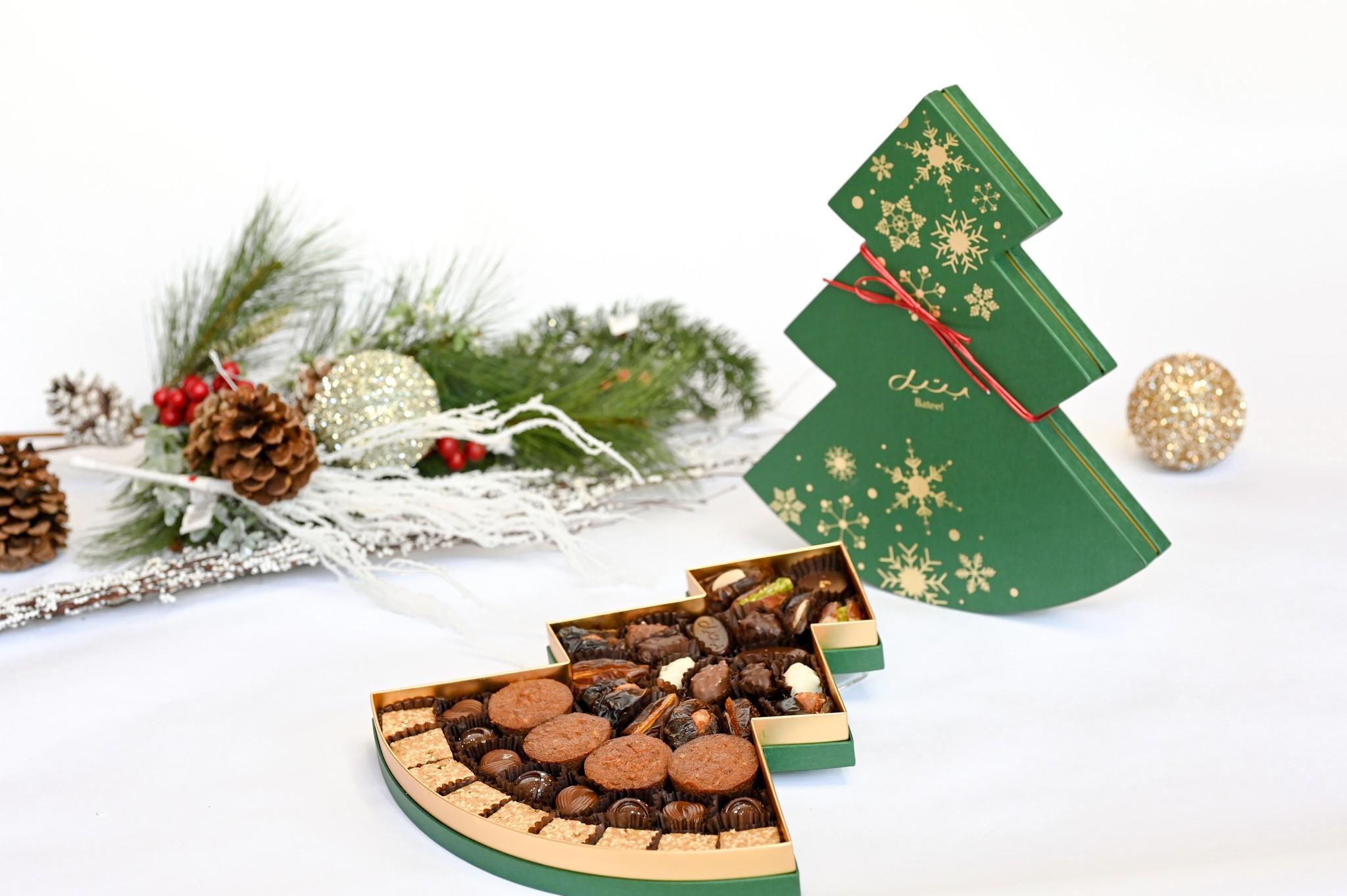 Green Christmas Tree Assortment Large