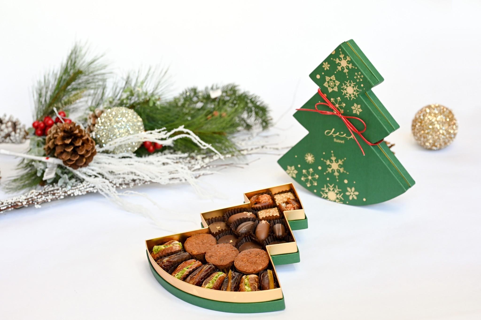 Green Christmas Tree Assortment Medium