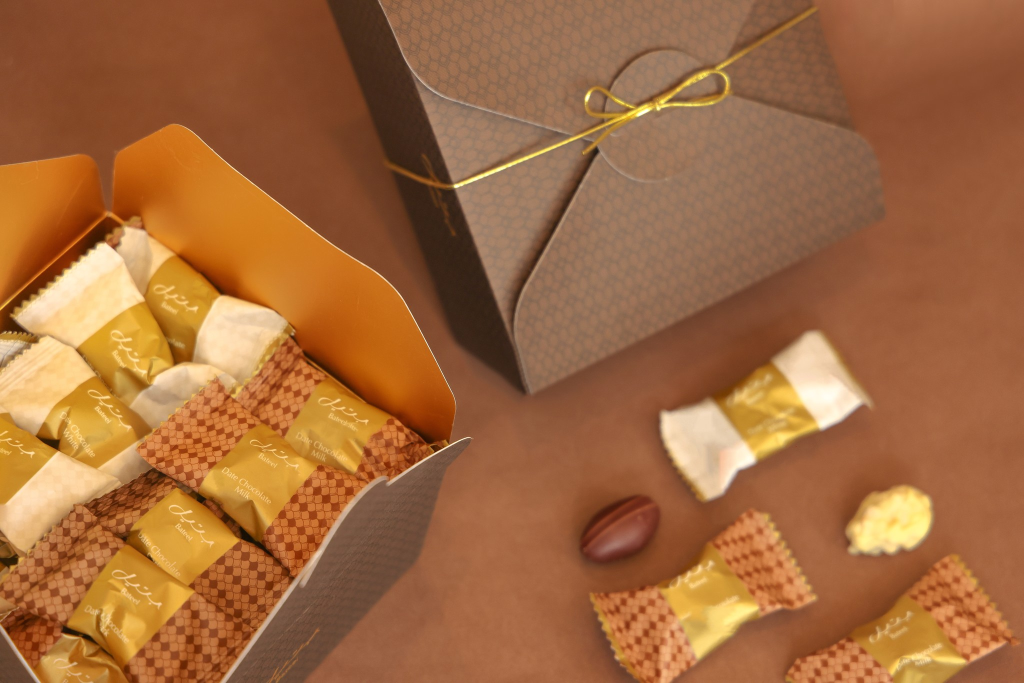 Wrapped Assorted Chocolate Dates