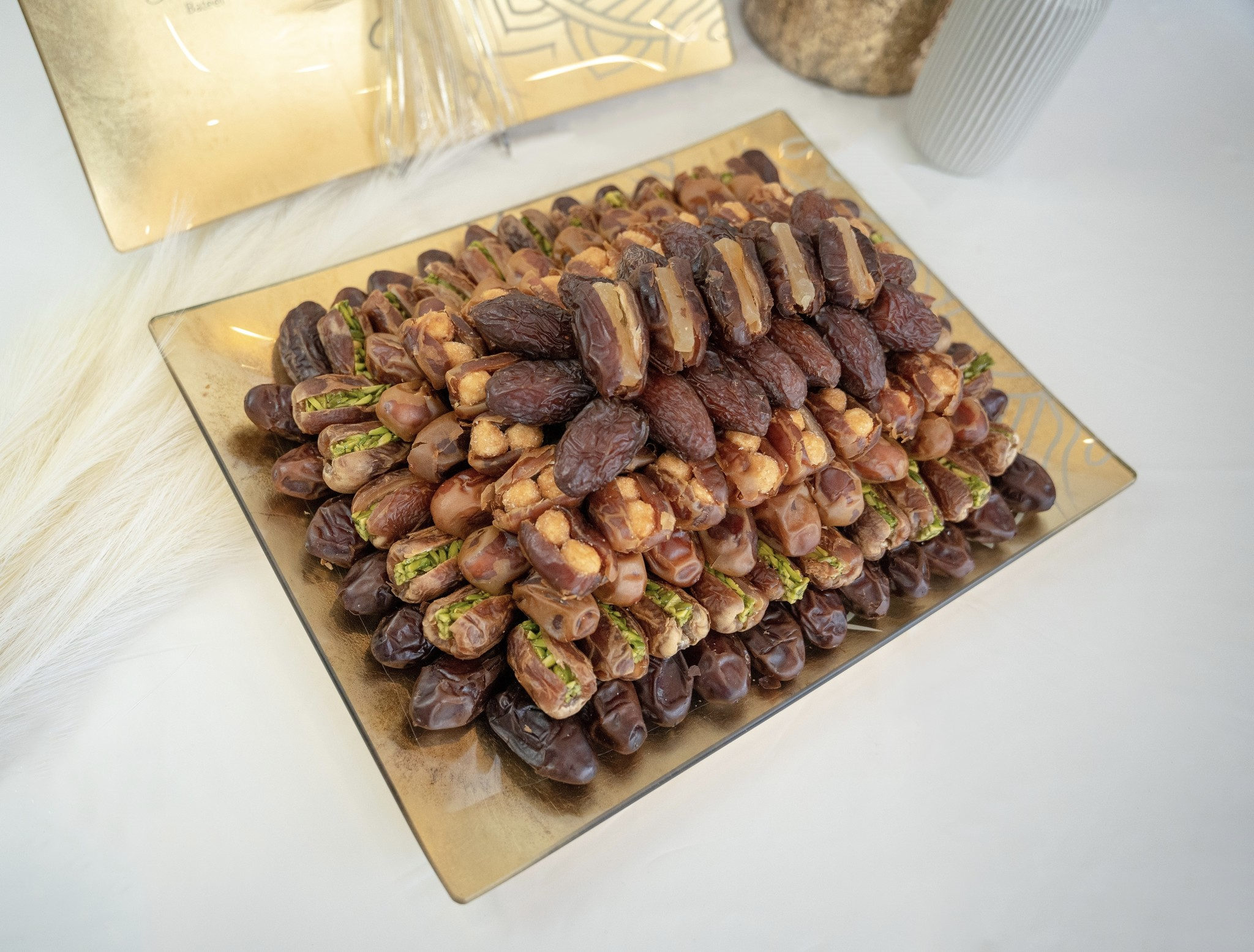 Juno Wide Tray Plain/Filled Dates