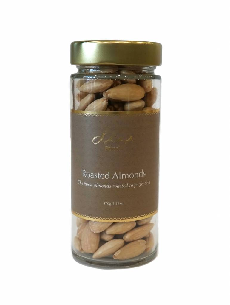 Bateel USA Premium Roasted Almonds Jar