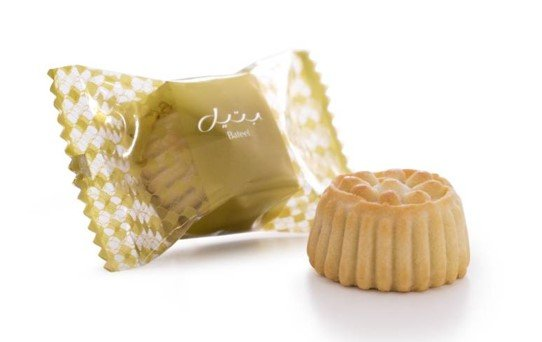 Bateel USA Date Maamoul Cookies - Individually Wrapped